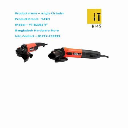 """Yt-82083 4 """" angle grinder in bd"""