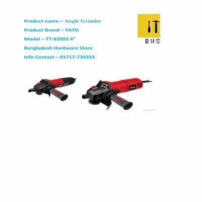 """Yt-82093 4 """" angle grinder in bd"""