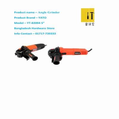 """Yt-82094 5 """" angle grinder in bd"""