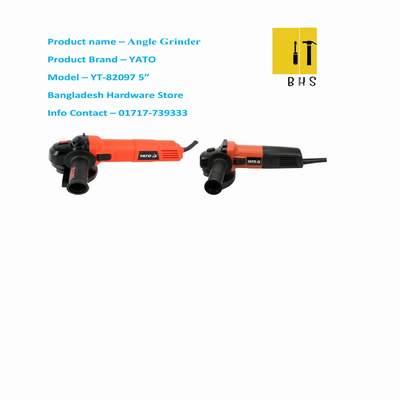 """Yt-82097 5 """" angle grinder in bd"""