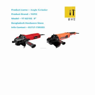 """Yt-82102 9 """" angle grinder in bd"""