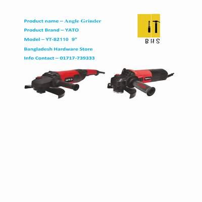"""Yt-82110 9 """" angle grinder in bd"""
