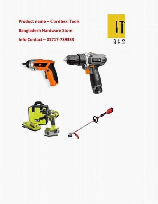 Cordless tools in bd