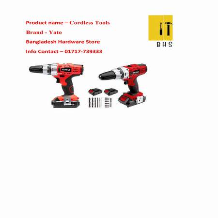 Yato cordless tools in bd