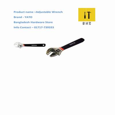 yato adjustable wrench in bd