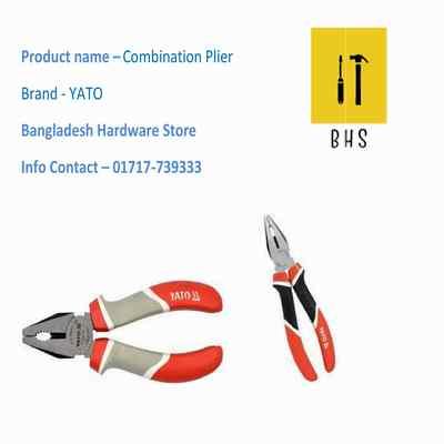 Yato combination plier in bd