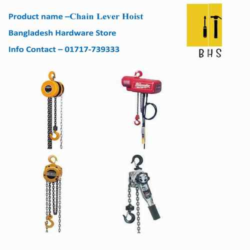 Chain lever hoist/chain hoist in bd