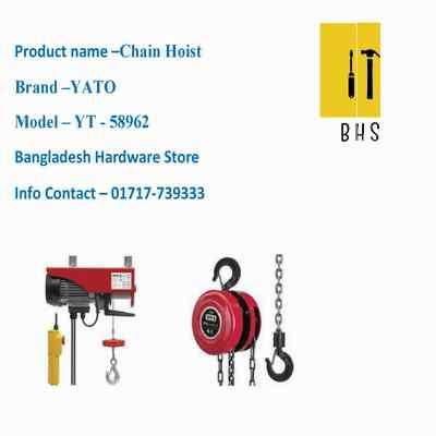 yt-58962 chain hoist in bd