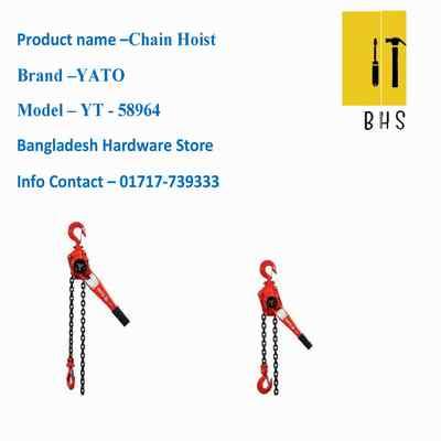 yt-58964 chain hoist in bd