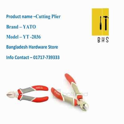 """6"""" yt-2036 cutting plier in bd"""