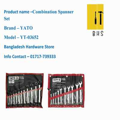 yt-03652 combination spanner set in bd