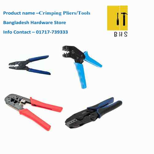 crimping pliers / crimping tools in bd
