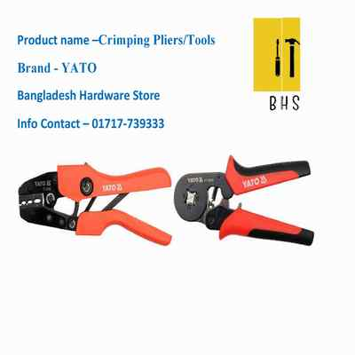 Yato crimping pliers / crimping tools in bd