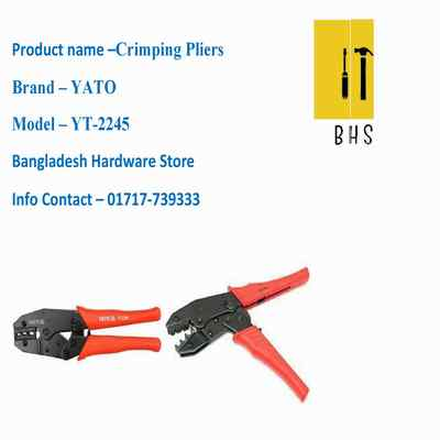 yt-2245 crimping pliers in bd
