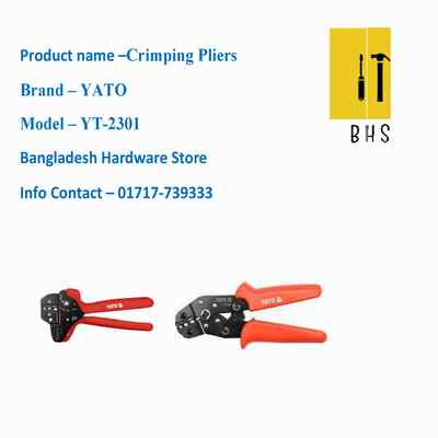 yt-2301 crimping pliers in bd
