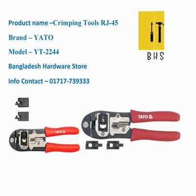 yt-2244 rj-45 crimping tools in bd