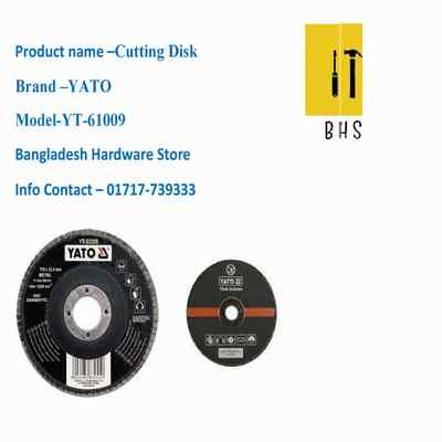 yt-61009 cutting disk in bd