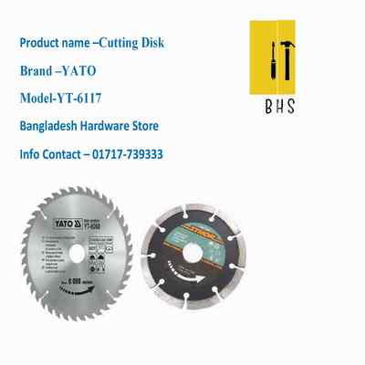 yt-6117 cutting disk in bd