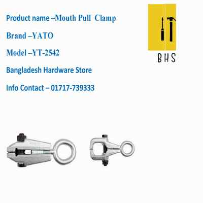 yt-2542 clamp /mouth pull clamp in bd