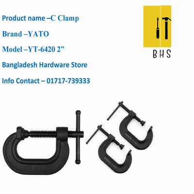 """2"""" yt-6420 c clamp in bd"""
