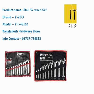 yt-48182 dali wrench set in bd