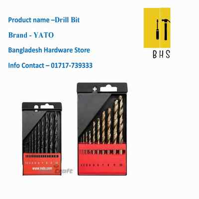 Yato drill bit in bd