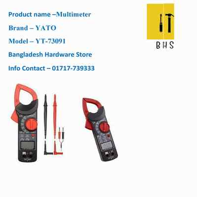 yt-73091 multimeter /digital clamp meter in bd