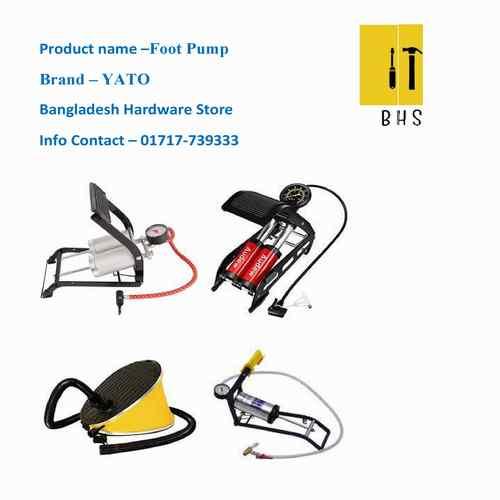 foot pump in bd