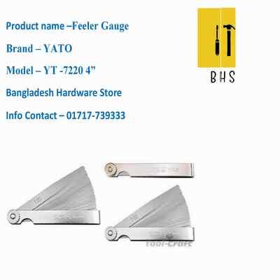 Yt-7220 feeler gauge in bd