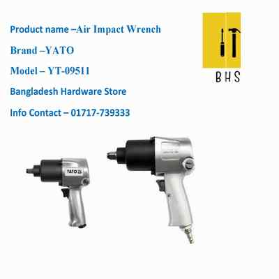 yt-09511 air impact wrench in bd