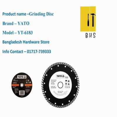 yt-6183 grinding disc in bd