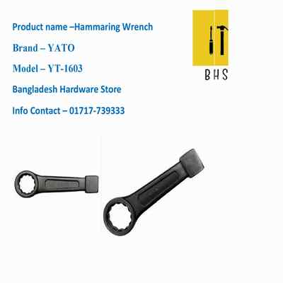 yt-1603 hammaring wrench in bd