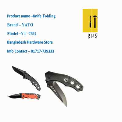 yt-7532 Knife folding in bd