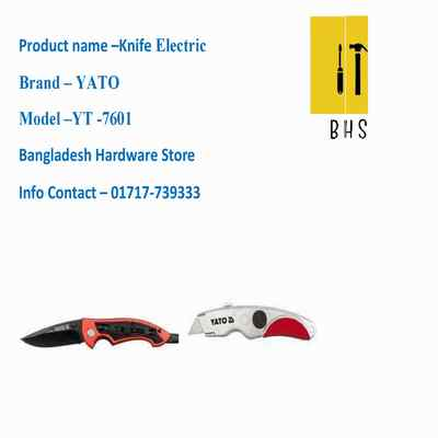 yt-7601 Knife electric in bd