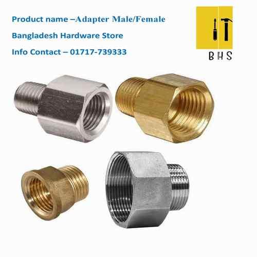 adapter male /female in bd