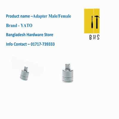 yato adapter male /female in bd