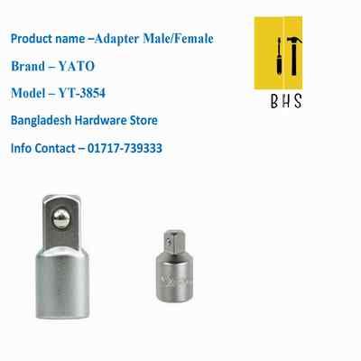 Yt-3854 adapter male /female in bd