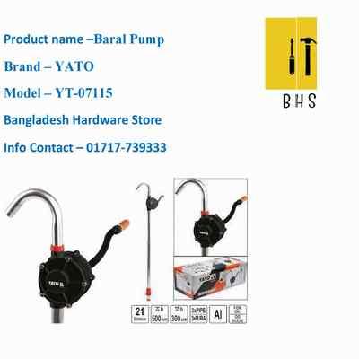 yt-07115 baral pump in bd