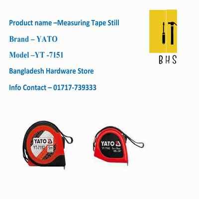 yt-7151 measuring tape still in bd