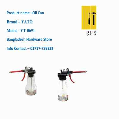 yt-0691 oil can in bd