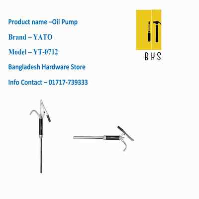 yt-0712 oil pump in bd