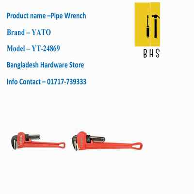 "6"" yt-24869 pipe wrench in bd"