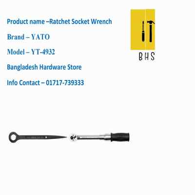 yt-4932 ratchet socket wrench in bd