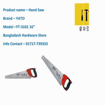 "16"" yt-3101 hand saw in bd"