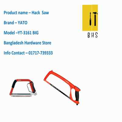 yt-3161 hack saw in bd