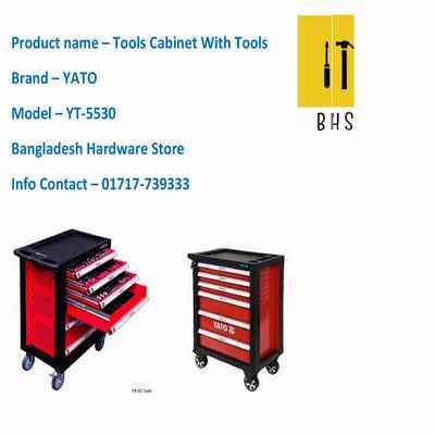 yt-5530 tools cabinet with tools in bd