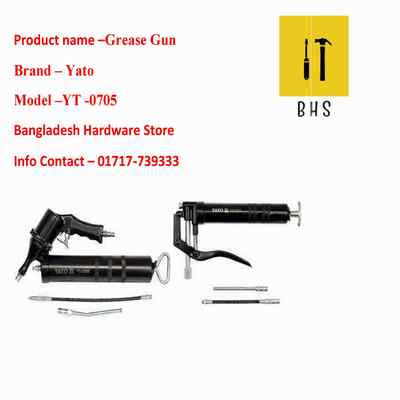 yt-0705 grease gun in bd