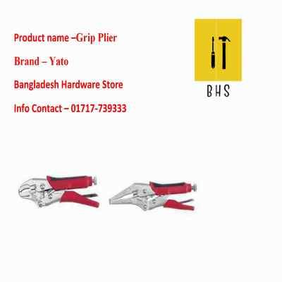 """7"""" yt-2152 grip plier in bd"""