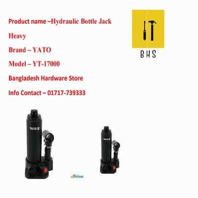 yt-17000 hydraulic bottle jack heavy in bd