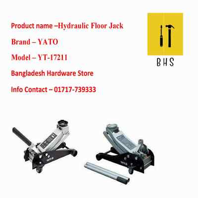yt-17211 hydraulic floor jack in bd